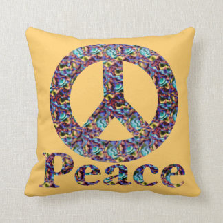 Peace American MoJo Pillow Throw Cushion
