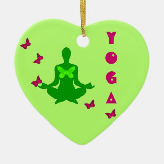 Peace and Butterfly - Yoga Ornaments