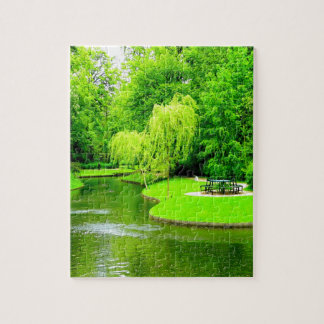 Peace and calm copenhagen denmark park jigsaw puzzle
