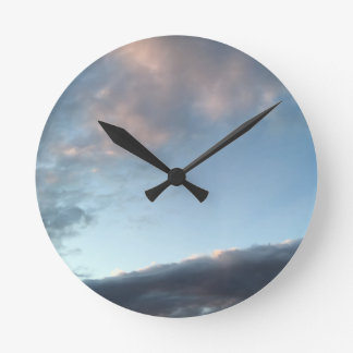 Peace and calm round clock