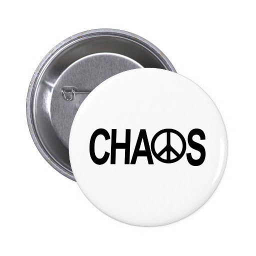 Peace and Chaos Pins