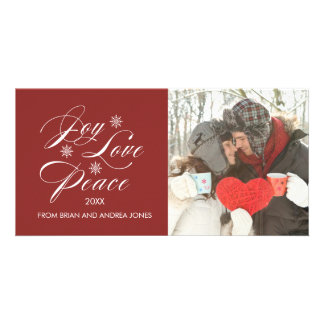 PEACE AND JOY | HOLIDAY PHOTO CARD