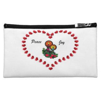 Peace And Joy Makeup Bag