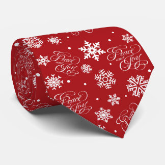 Peace and joy tie