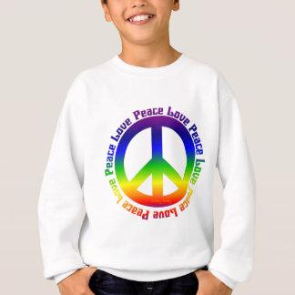 Peace and Love all around Sweatshirt