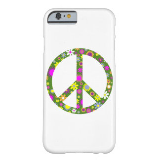 Peace and love barely there iPhone 6 case