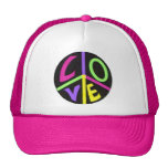 Peace and Love Cap