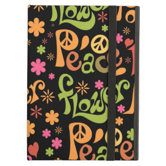 Peace and Love Pattern iPad Air Case