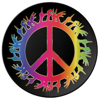 Peace and Love Plate