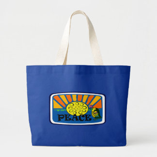 Peace and Pan Tote Jumbo Tote Bag
