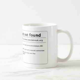 peace and quiet coffee mug