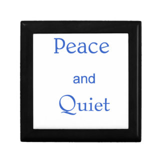 peace and quiet gift box