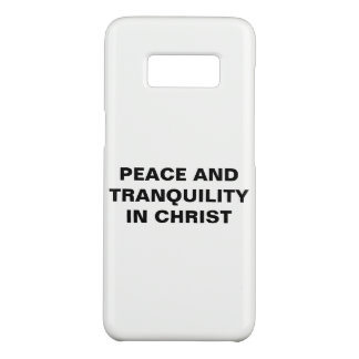 """Peace And Tranquility In Christ"" Galaxy S8 Case"