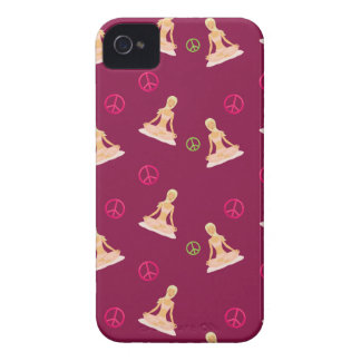 Peace and Yoga Blackberry Case