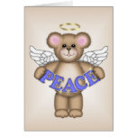 Peace Angel Bear Greeting Cards