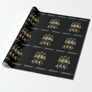 Peace! Angels Wrapping Paper