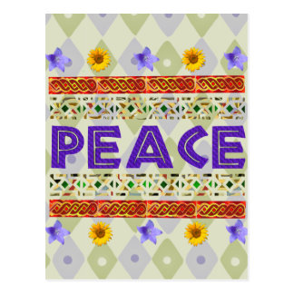 Peace Art Postcard