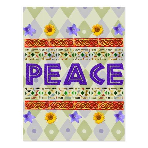Peace Art Post Card