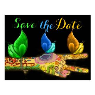 Peace Art - Save the Date - copyright Sharon Rhea Postcards