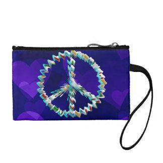 Peace Art Symbol Coin Purses