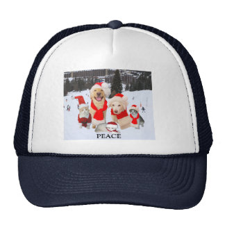 Peace at Christmas Trucker Hat