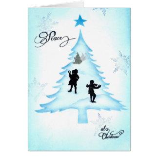 Peace at Christmas Card