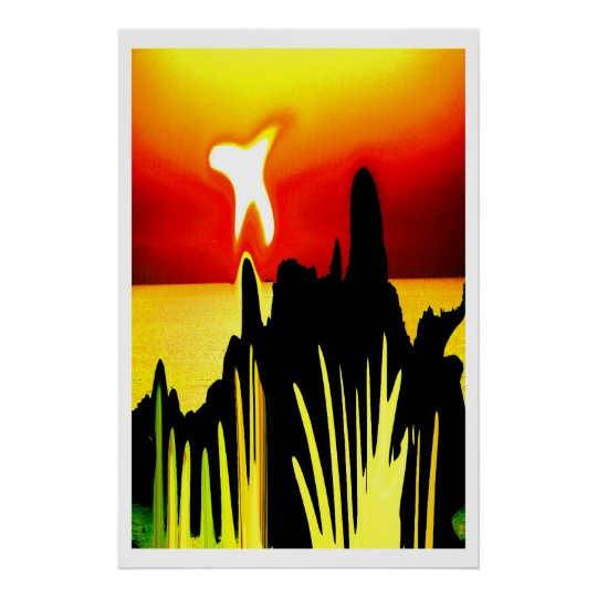 PEACE AT DAWN POSTER