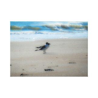 Peace at the Beach Canvas Print