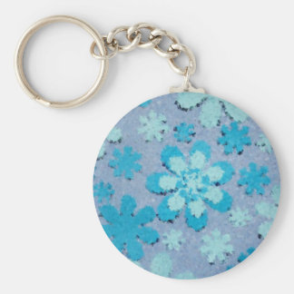 PEACE! BASIC ROUND BUTTON KEY RING