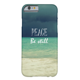 Peace Be Still Bible Verse Barely There iPhone 6 Case