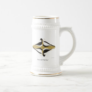 Peace Be With You! Beer Stein