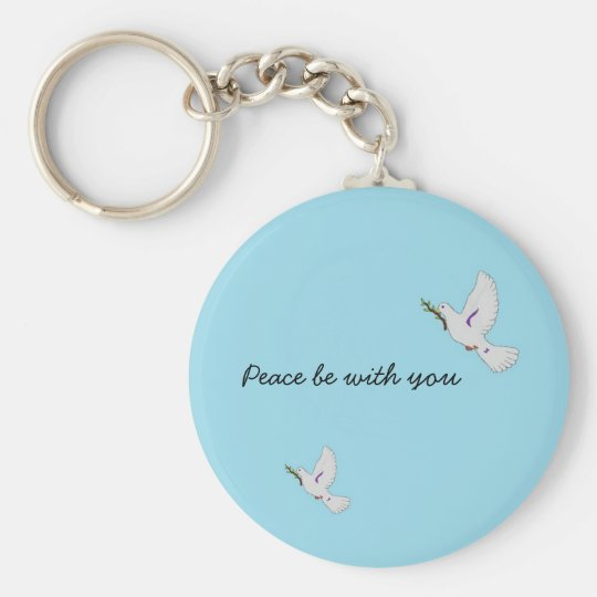 Peace be with you Keychain