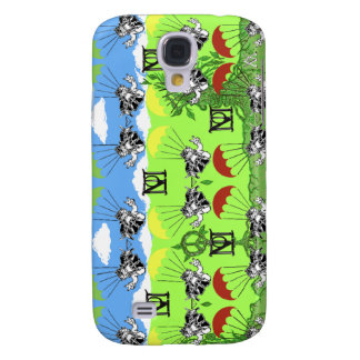 Peace Bears Infantry Paratroops Graffiti iphone 3G Galaxy S4 Case