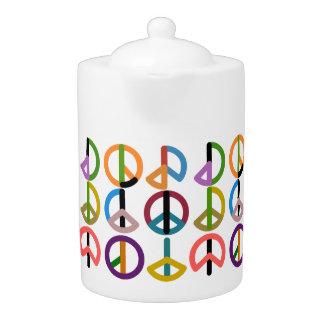 Peace Beat / Medium Teapot
