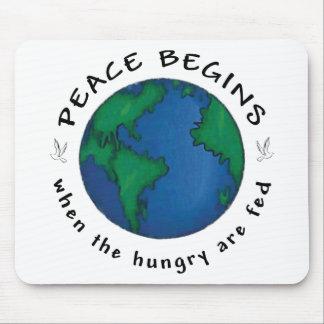 Peace Begins Mousepads