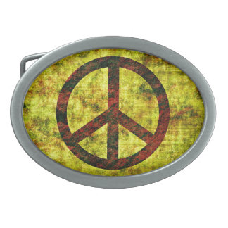 Peace Belt Buckle