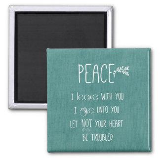 Peace Bible Verse Magnet