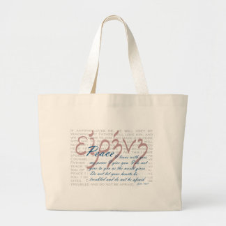 Peace Bible Verse on Christian Tote