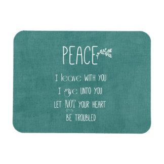 Peace Bible Verse Vinyl Magnet