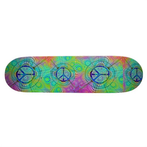 peace big, peace big, peace big, peace big 21.6 cm skateboard deck