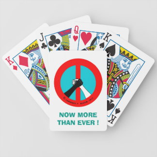 Peace & Brotherhood Bicycle® Poker Playing Cards