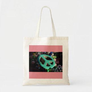 Peace Budget Tote Bag