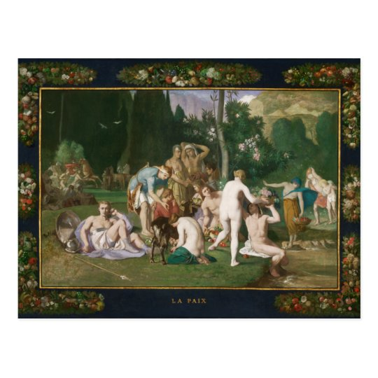 Peace by Pierre Puvis de Chavannes Postcard