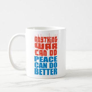 Peace Can Do Better Mug