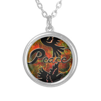 PEACE CHRISTMAS jpg Personalized Necklace