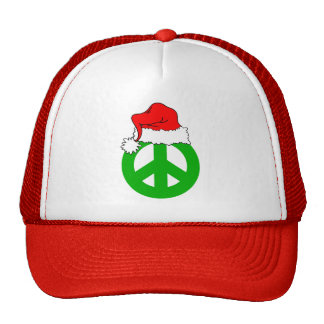 Peace Christmas Mesh Hats