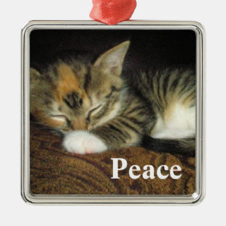 Peace Christmas Ornament