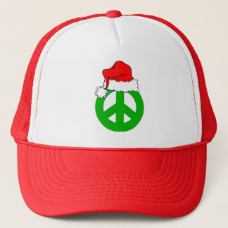 Peace Christmas Trucker Hat