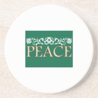 Peace Beverage Coasters