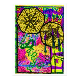 Peace Collage Postcard